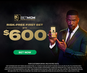 Risk Free First Bet Up to $600